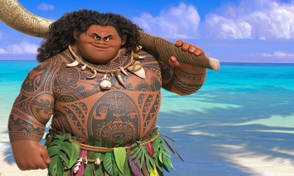 All Of Mauis Tattoos In Moana Show How Culturally Important The