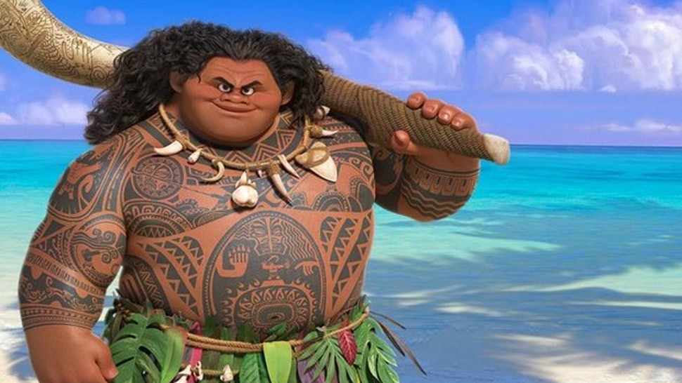 All Of Maui\'s Tattoos In \'Moana\' Show How Culturally Important The ...
