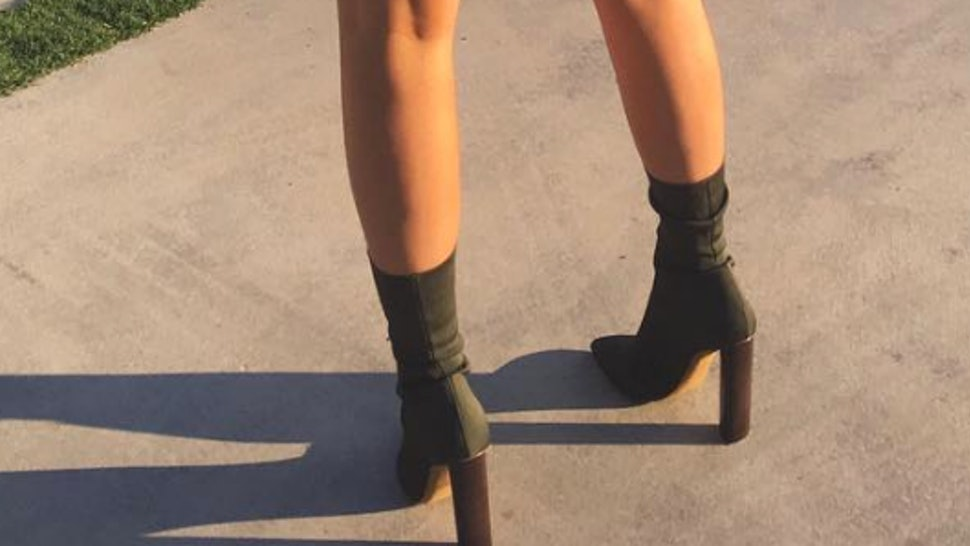 66a8428deea88 13 Yeezy Season 2 Knit Ankle Boot Dupes That Give You That Kylie Jenner Look