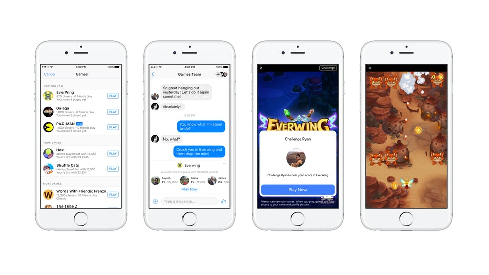How To Play Games On Facebook Messenger & Make Your Chats