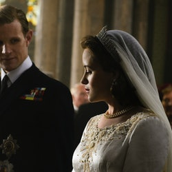 Matt Smith plays Prince Philip in The Crown.