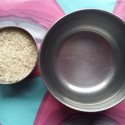 I washed my face with rice water — here's how rice water benefits skin.