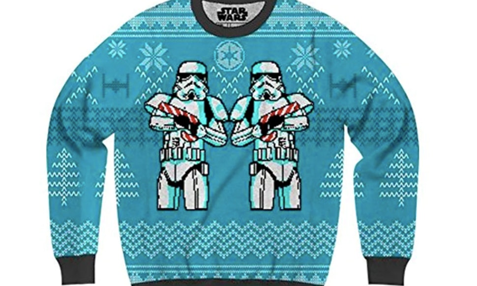 13 star wars ugly christmas sweaters that will remind santa the force is with you