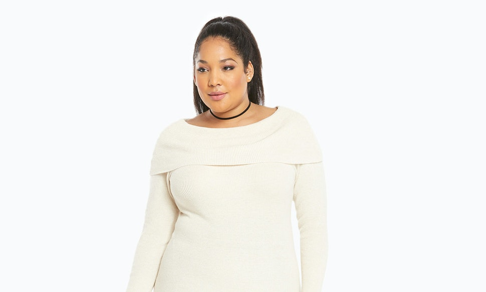 15 Plus Size Sweater Dresses To Keep You Cozy All Winter Long