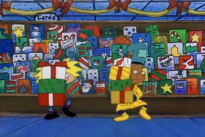 12 things we loved about christmas in the 90s - Hey Arnold Christmas