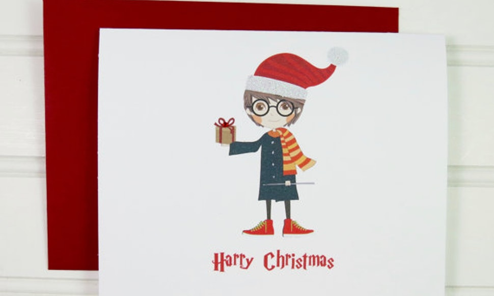 13 Harry Potter Christmas Cards You\'ll Need This Holiday Season