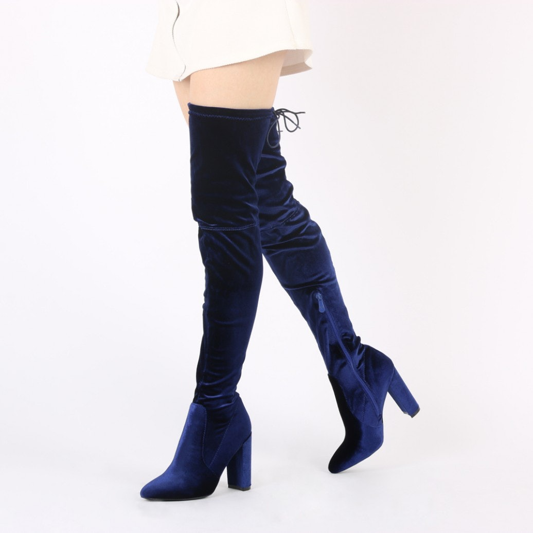 b8cd10877161 7 Best 2016 Over The Knee Boots For Tall Women To Nail The Season s Hottest  Shoe Trend