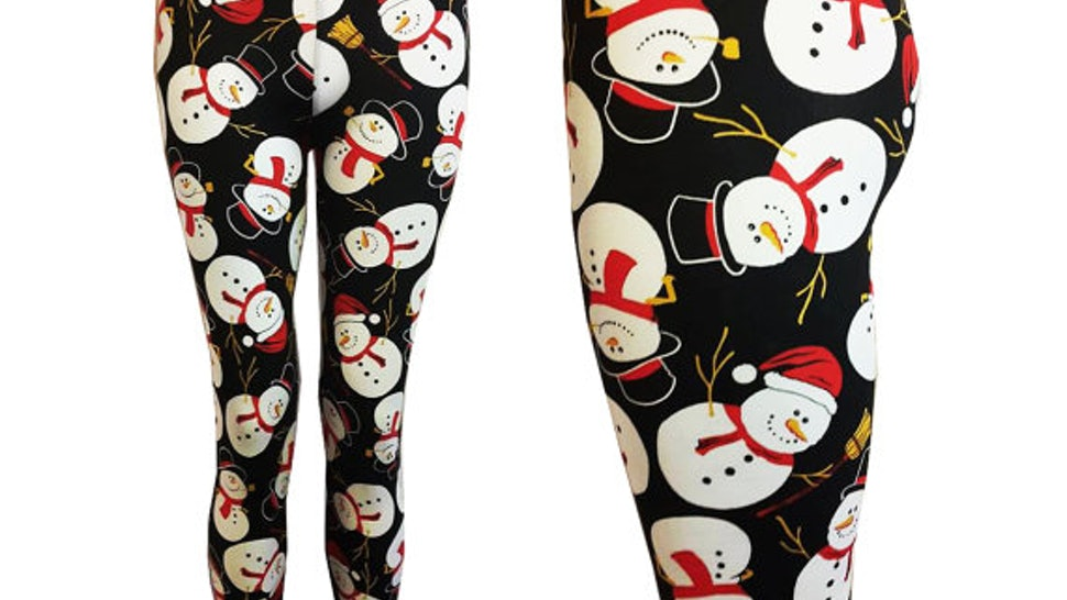 Plus Size Christmas Leggings.11 Plus Size Christmas Leggings Tights For Gams That Need