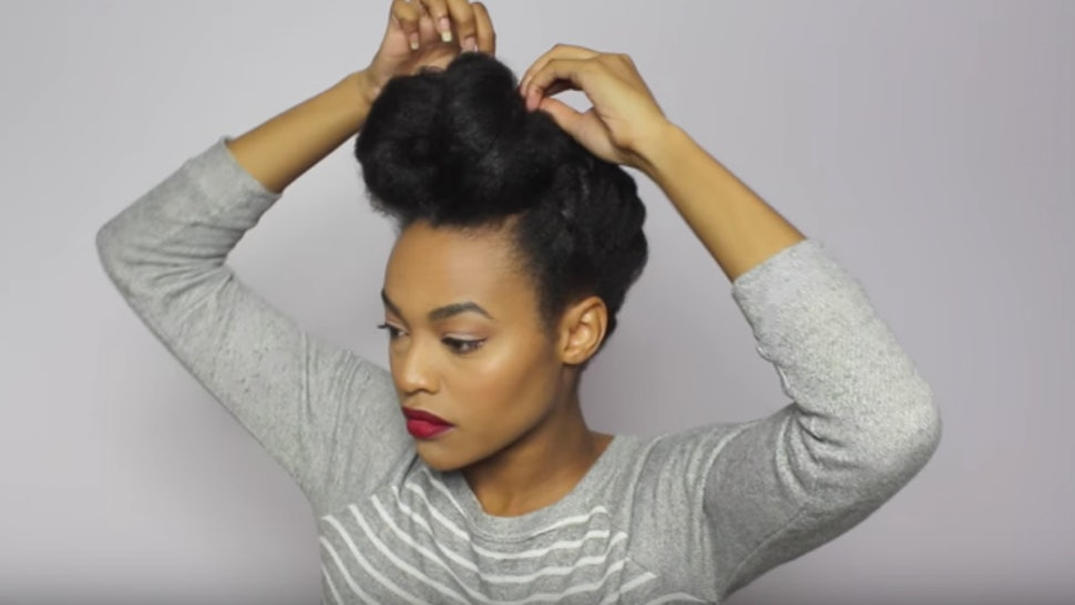11 Holiday Hairstyles For Natural Hair That You Can Master