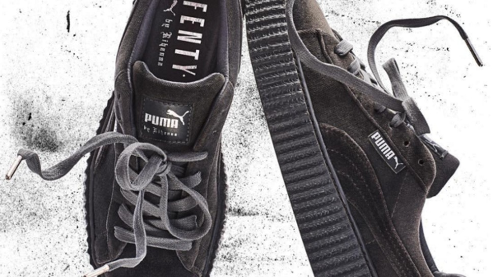 dcb9803815df88 Twitter Reactions To Rihanna s Fenty x Puma Velvet Creepers Prove Fans Are  Still Obsessed With The It-Shoe