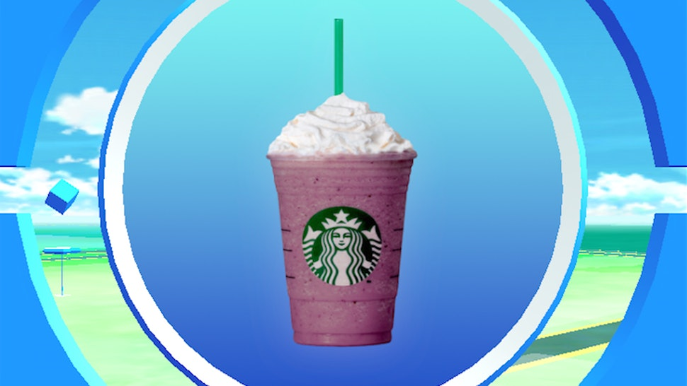 How To Get The 'Pokemon GO' Frappuccino From Starbucks & Be The Best