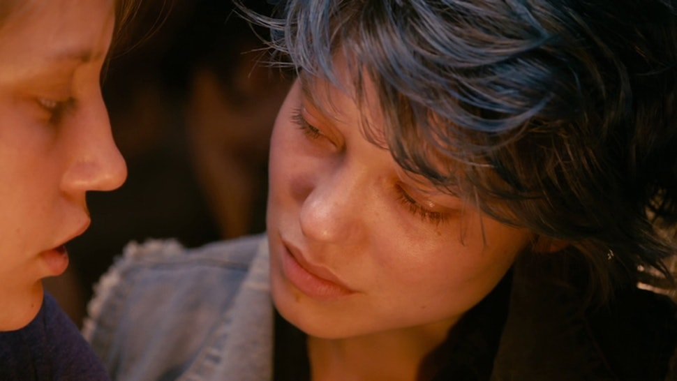 Scene from Blue Is The Warmest Color, one of the sexist movies of all time.