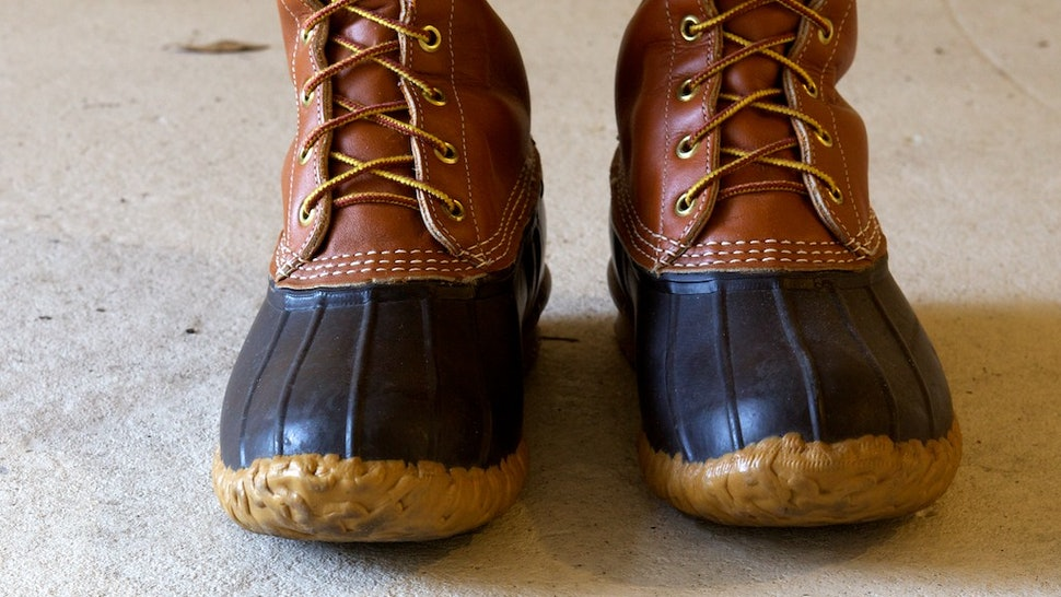 ee8a350ab07 How To Clean Your L.L. Bean Boots When The Snow   Slush Come For Them —  PHOTO