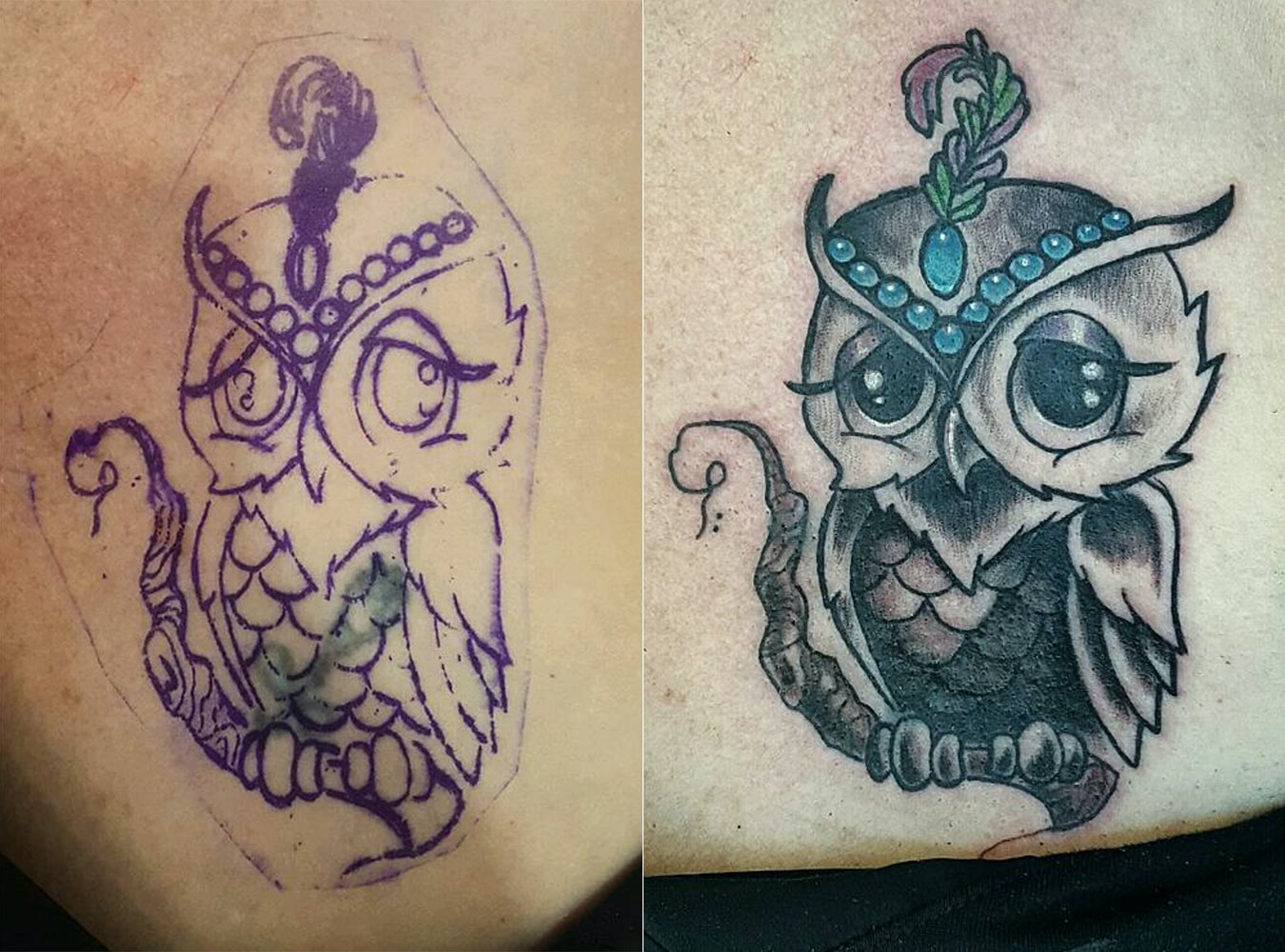 7 Gorgeous Tattoo Cover Ups, Because Painless Removal Cream Isn\'t ...