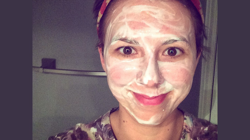 what yogurt is good for acne