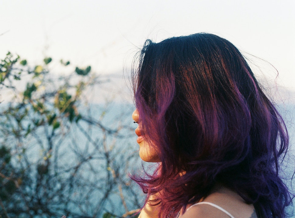 6 Tips For Dyeing Brown Hair Purple Without Completely Ruining Your Do