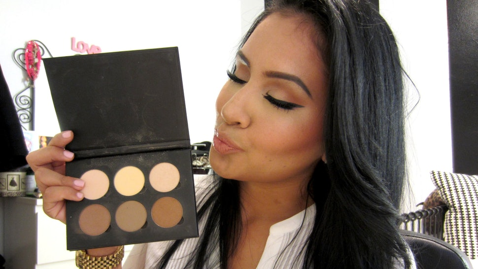 How To Use The Anastasia Contouring Palette To Achieve The Look You're Going For — VIDEOS