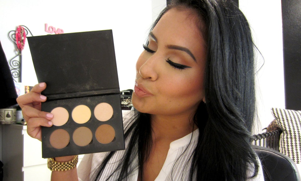 How To Use The Anastasia Contouring Palette To Achieve The Look You