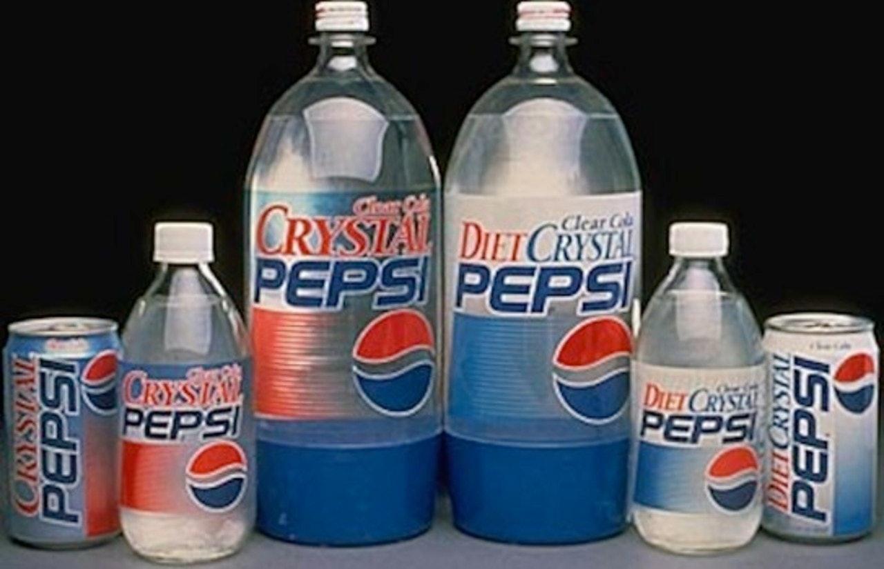 How did they make crystal pepsi