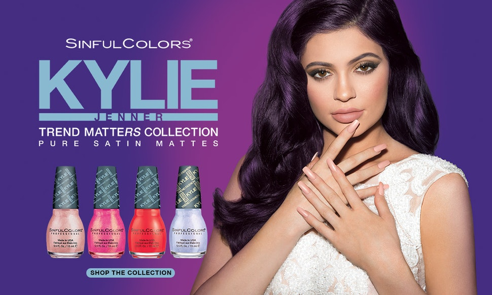 How Much Are Kylie Jenner x Sinful Colors Trend Matters Nail ...