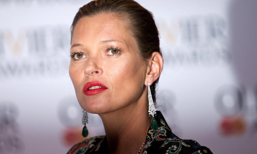 Kate Moss Styled Freja Beha Erichsen For Vogue Uks June Issue