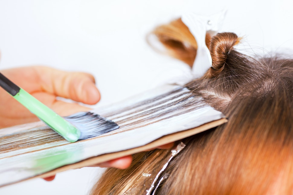 How To Lighten Hair With Hydrogen Peroxide Plus Other H2o2 Uses You