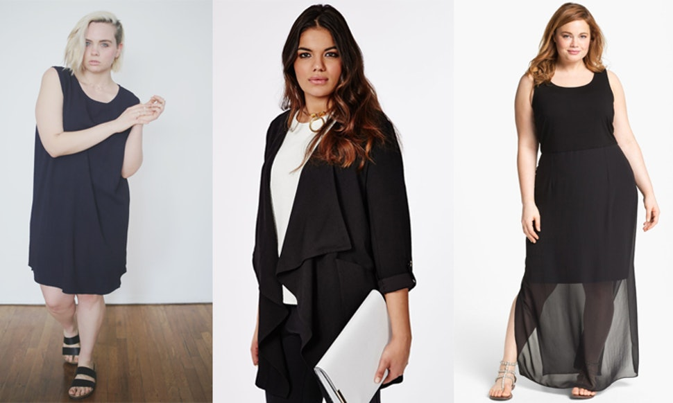 5 Places To Shop Minimalist Plus Size Fashion If Sequins And Cut