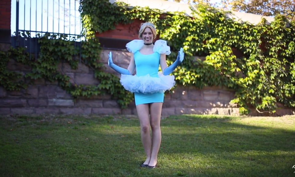 8 last minute disney princess halloween costumes that are quick easy videos