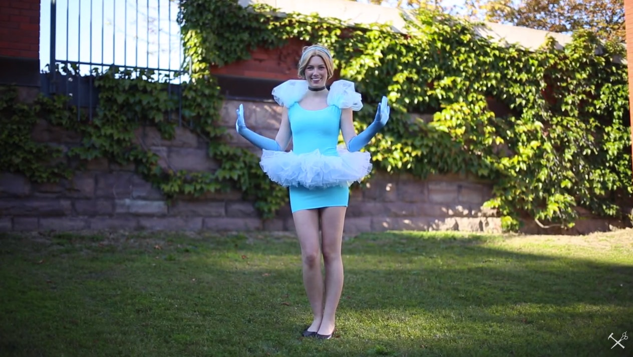 8 Last Minute Disney Princess Halloween Costumes That Are Quick u0026 Easy u2014 VIDEOS  sc 1 st  Bustle & 8 Last Minute Disney Princess Halloween Costumes That Are Quick ...