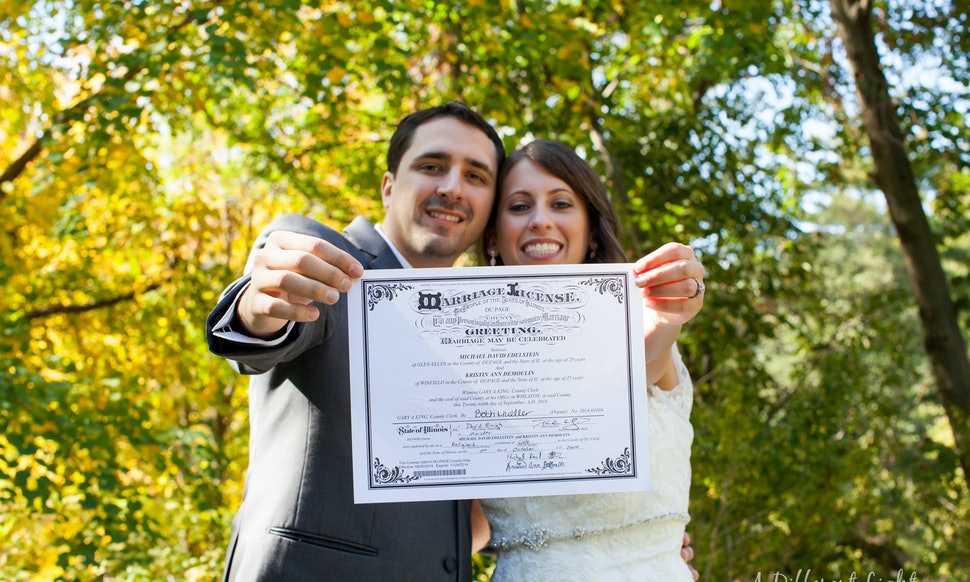 How To Get A Marriage License Before Your Walk Down The Aisle ...