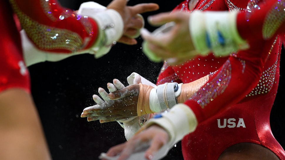 What Do Gymnasts Wear On Their Hands During Uneven Bars? The