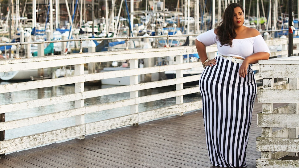 4580cc0e8fa Plus Size Blogger Chastity Garner-Valentine Of GarnerStyle Releases  Nautical Themed Capsule Collection For RebDolls