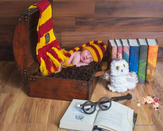 Harry Potter He Who Has Just Been Named Onesie Personalized Hat Baby Shower Gift