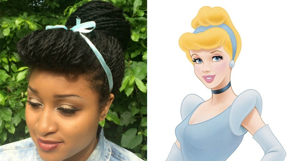 cinderella hair styles i recreated disney princess hairstyles with senegalese 6696