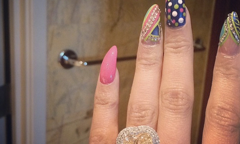 Nicki Minaj Is Engaged, But Can We Talk About Her Insane Manicure ...