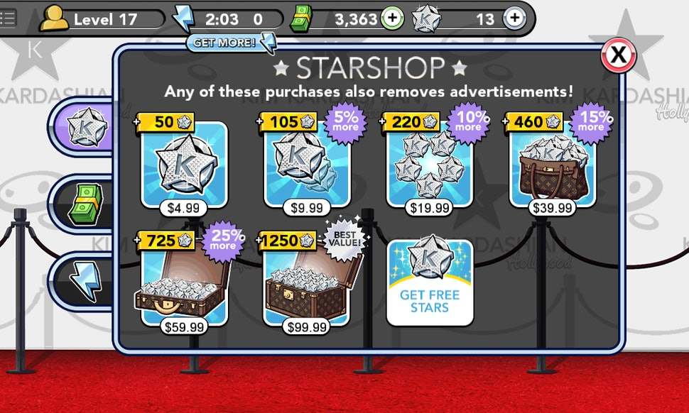 how to get k stars hack