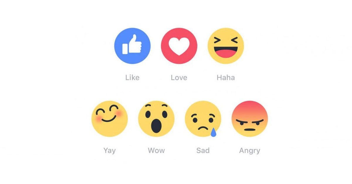 What Do Facebook Reactions' Faces Mean? Here's The Perfect