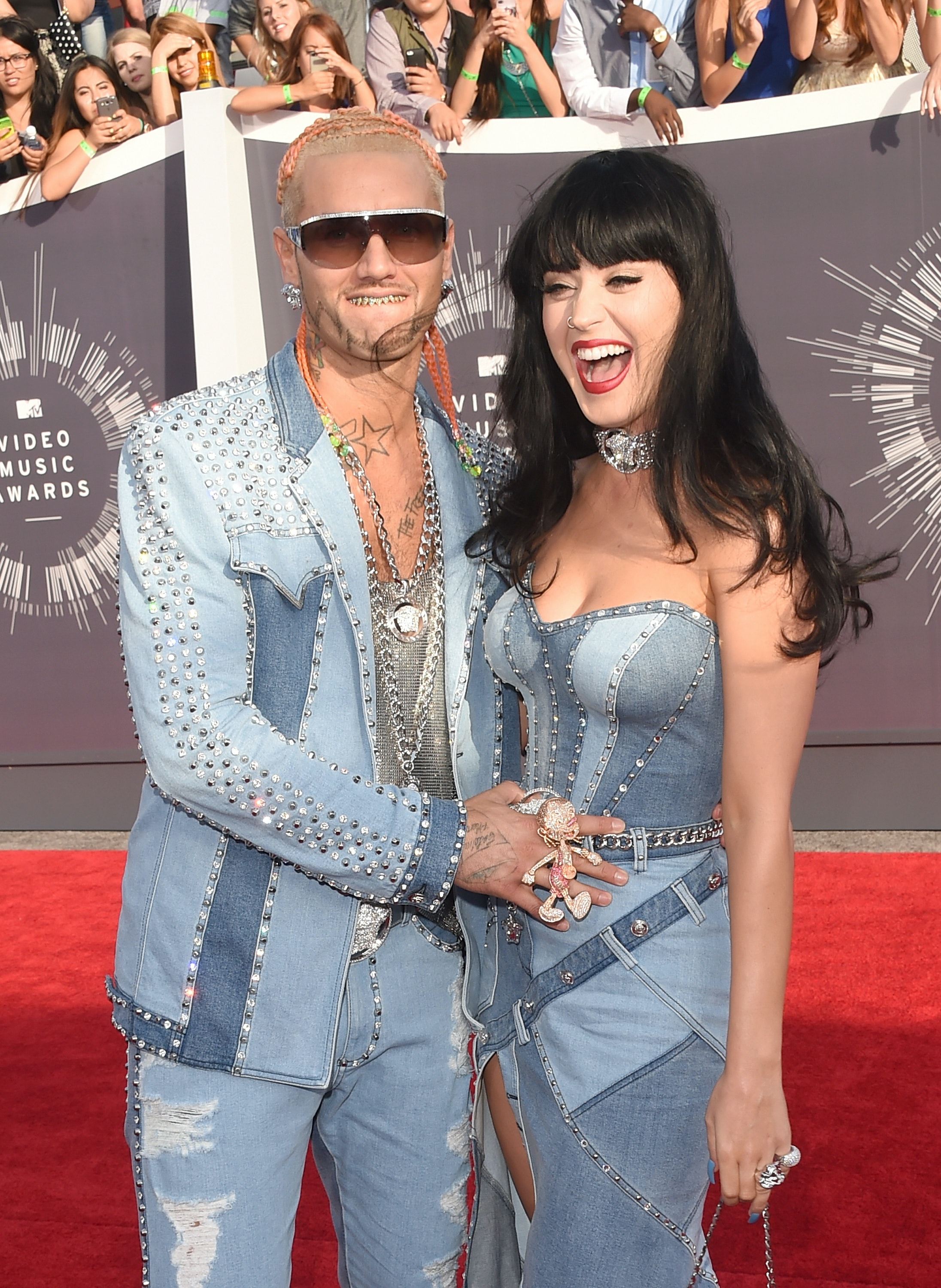Is katy perry really dating riff raff
