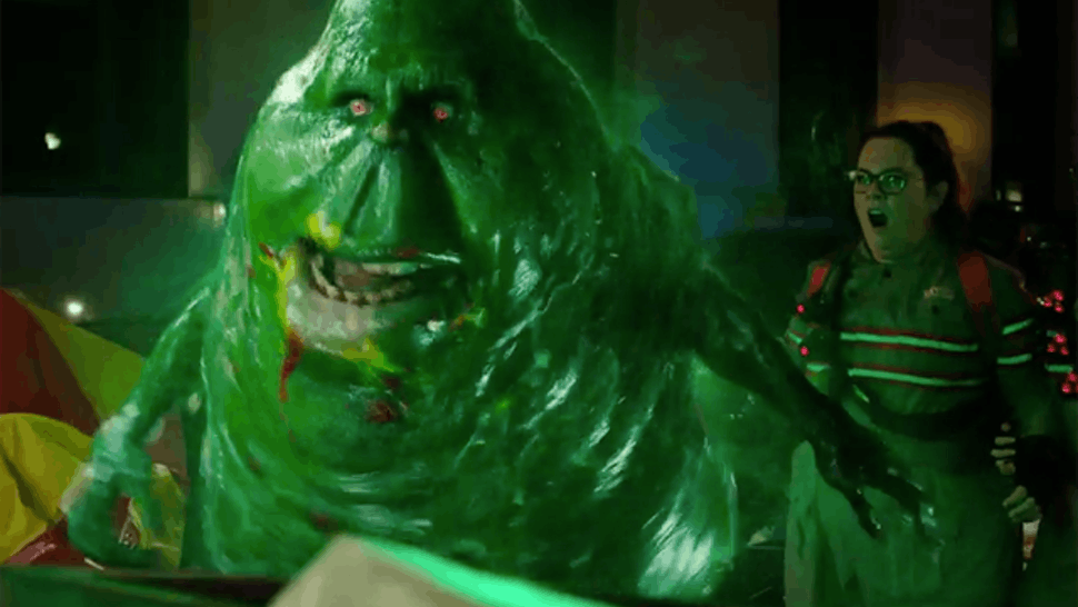How To Make 'Ghostbusters' Slime Is Pretty Simple & A Ton Of