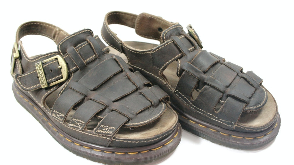 ee4d5d85ad0c Whatever Happened To Dr Martens Fisherman Sandals From The  90s In All  Their Grungy Glory