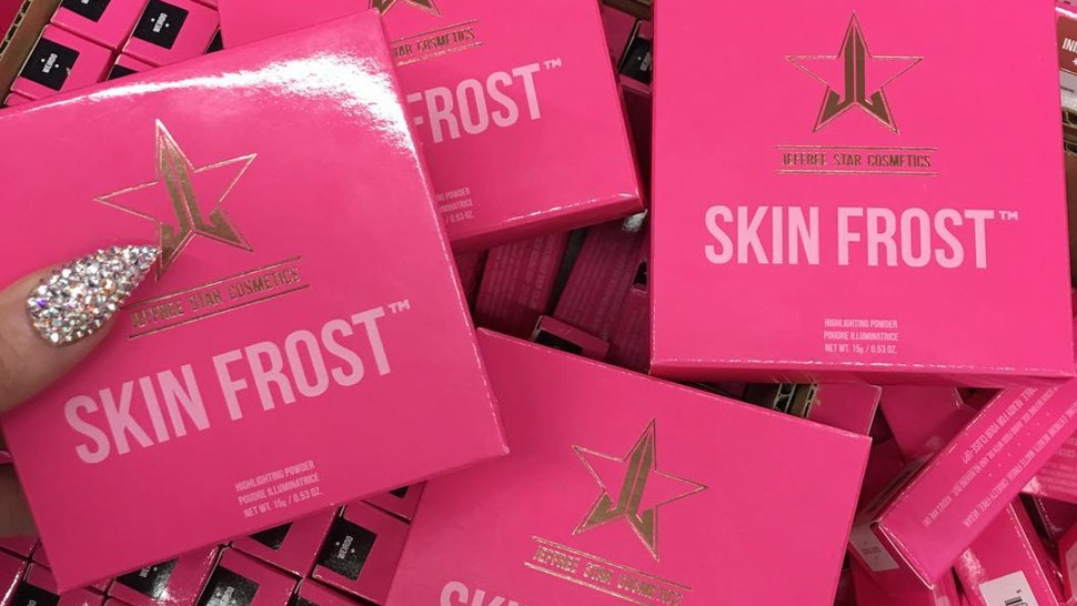 When Is Jeffree Star Cosmetics Skin Frost Available? You Won't Have To Wait Long — PHOTOS