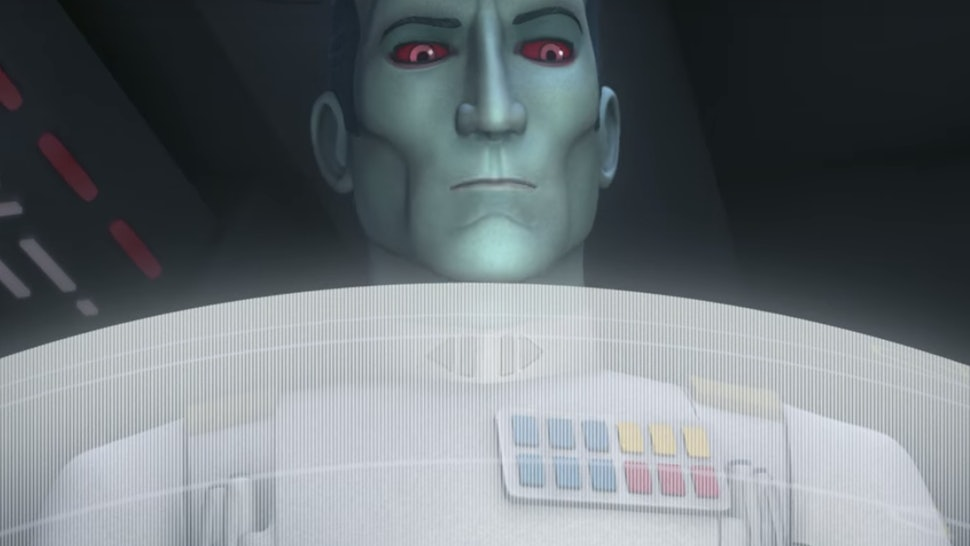 Who Is Thrawn In Star Wars Rebels Season 3 Added A Villain Many