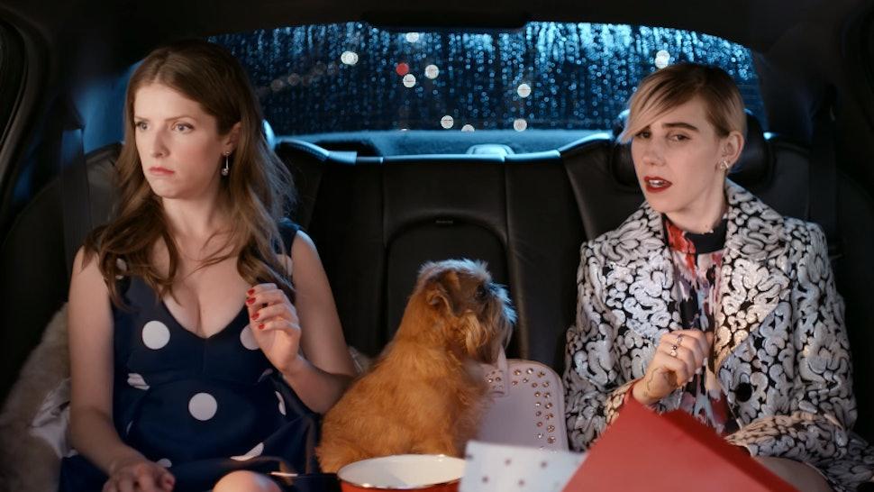 f5b149bf793f Kate Spade #MissAdventure Short Stars Anna Kendrick & Zozia Mamet — VIDEO