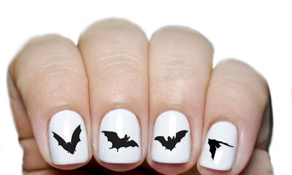 12 Spooky Nail Polishes & Nightmarish Nail Stickers To Accompany ...