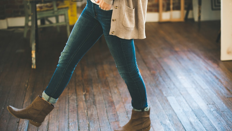 The 7 Best Tights To Wear Under Jeans When The Temperatures Drop