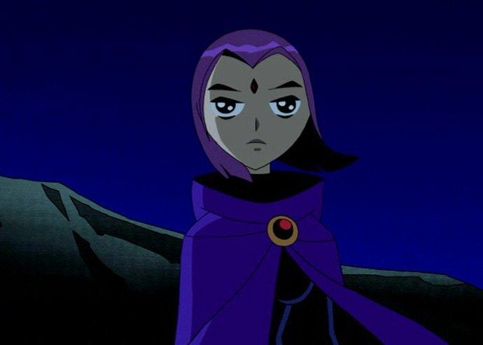 Teen Titans Raven X Robin