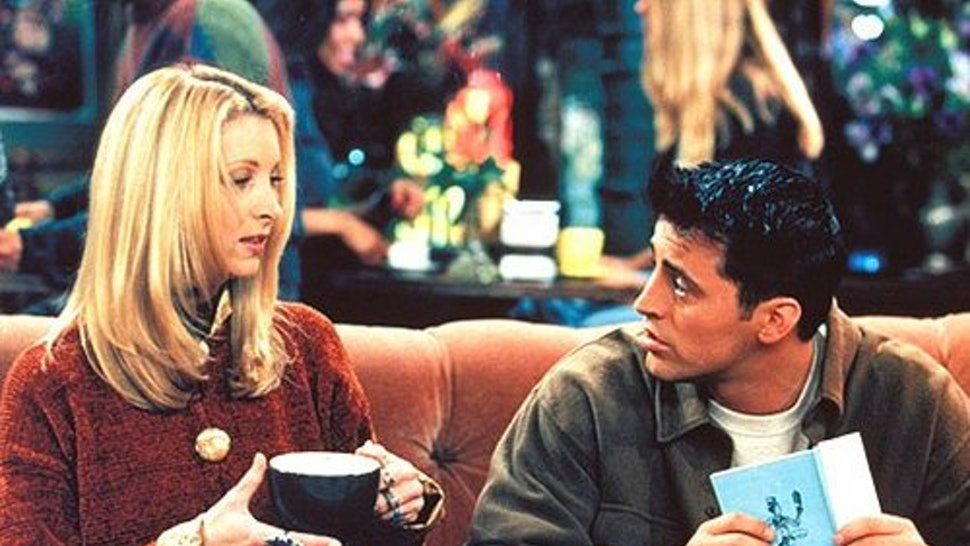 ross and phoebe hook up