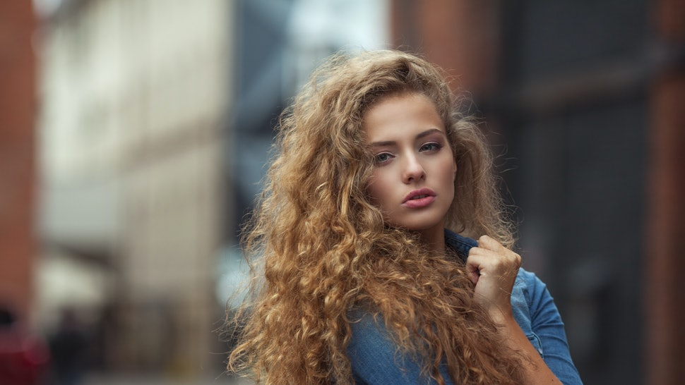 Bronwen With Frizzy Hair