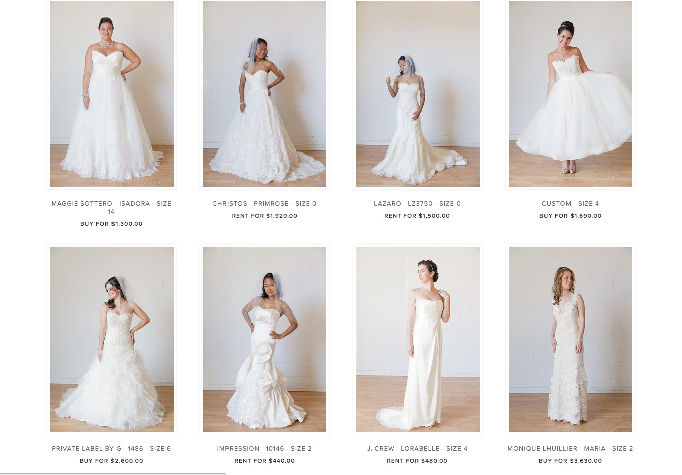 You Can Rent Your Wedding Dress From Borrowing Magnolia Now U2014 Would You Do  It?