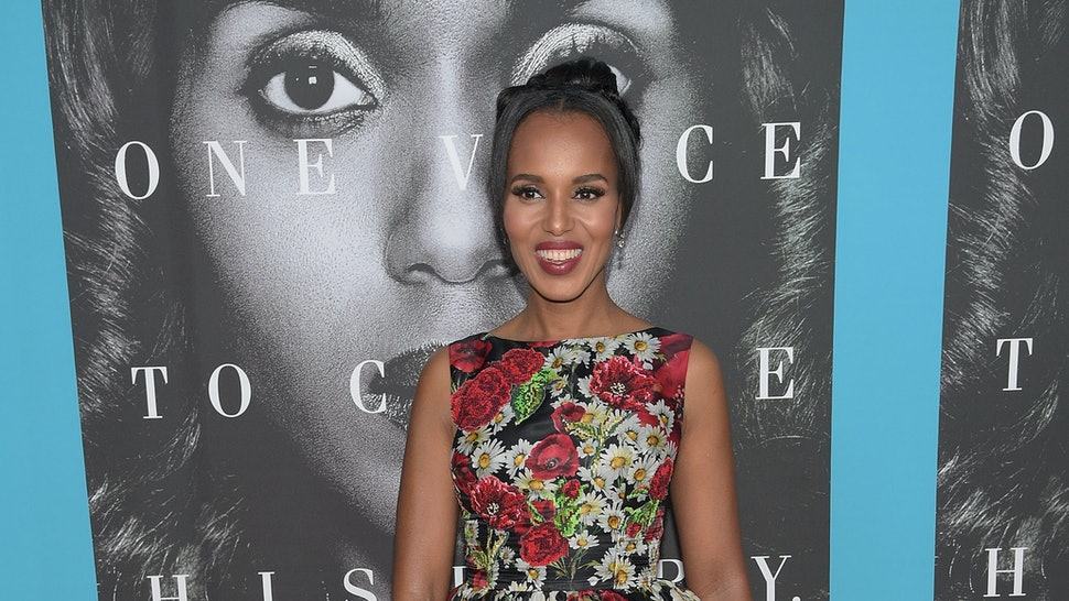 Where To Buy Kerry Washingtons Little Black Dress With A Super Cool